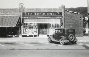 """Opened in 1936 with """"F.Horace Salmon"""" on the awning."""