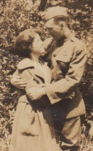 Cpl. Salmon and Betty Doig