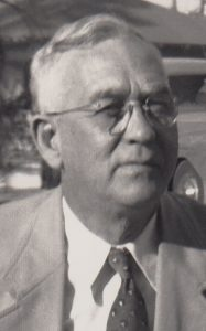 Horace with suite and tie in Florida